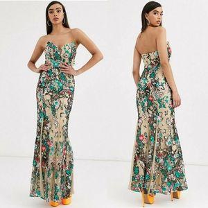 ⭐NWT⭐ Bariano - Eirene Fishtail Gown
